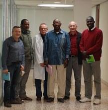 Visita a l'ESAB de professors de la UGB (Saint-Louis)